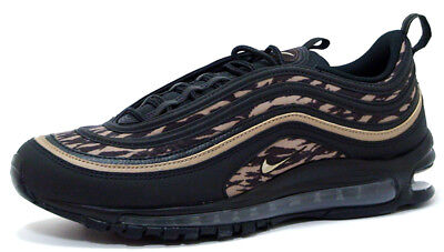 buy online 8e73a 66812 Nike AIR MAX 97 AOP AQ4132-001 BLACK KHAKI-VELVET BROWN sz 8