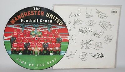 "Manchester United Football Squad - Come On You Reds -1994 Vinyl 12"" Picture Disc"