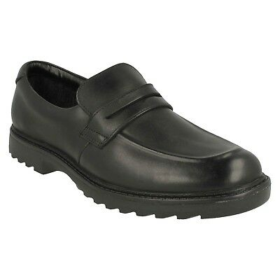 Asher Stride Boys Senior Clarks Leather Casual Formal Loafer School Shoes Sizes