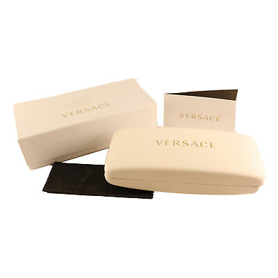 Versace Eyeglasses/Sunglasses Small Case New in Box - New includes Cloth!