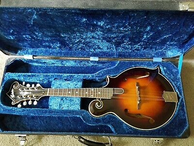 KENTUCKY KM-1000 MANDOLIN orig Case m/i Japan 1980s by Tahara/Sumi New Frets