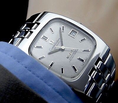 Traumhafte OMEGA CONSTELLATION CHRONOMETER Automatic Herren Uhr in Stahl