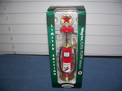 "Limited Edition Wayne Texaco Gas Pump Replica 7 3/4"" by Gearbox"