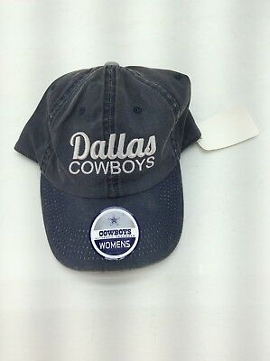 DALLAS COWBOYS - NFL Womens DISTRESSED baseball cap hat - Adjustable - NEW 4679346701d