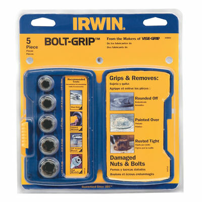 Irwin 10504634 Bolt-Grip Fastener Remover Base Set for Damaged/Rounded Nuts