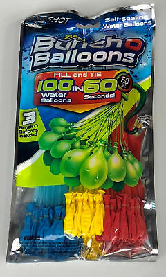 Zuru Bunch O Balloons 100 Water Balloons in 60 Seconds Assorted Colors