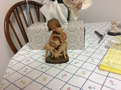 Wood Carving Vintage Wood Anri c