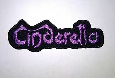 CINDERELLA logo embroidered NEW patch hard rock glam metal