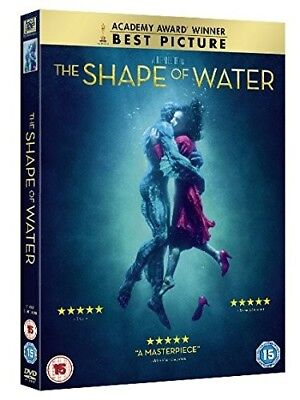 The Shape Of Water Dvd Brand New Sealed 2018