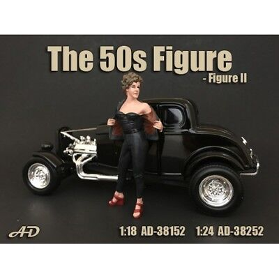 "1/24 scale NEW - Figure #2 from  American Diorama new ""50's Figures AD-38252"