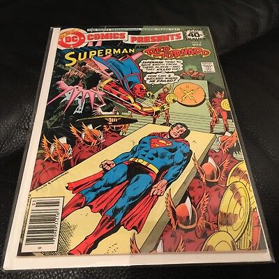 Vintage Superman And Red Tornado Comic Book No 7