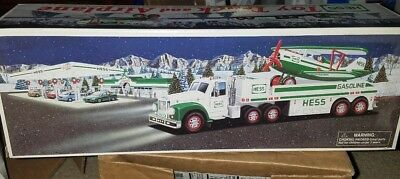 2002 Hess Toy Truck And Airplane - New In Box - Mint