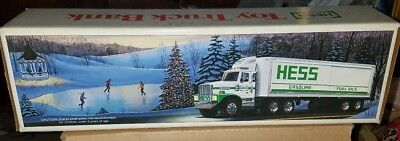 In Box - Vintage 1987 Hess Toy Truck Bank with Box