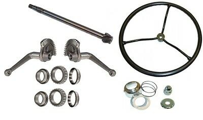 Steering Gear Box Assembly Rebuild Kit Ford Tractor 2N 9N (1939-1947)