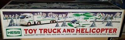 2006 Hess Toy Truck  And Helicopter  Unopened