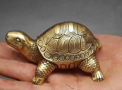 Old China  copper bronze tortoise furnishing articles home arts and crafts