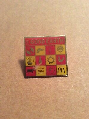 McDonalds Pin The Good Earth