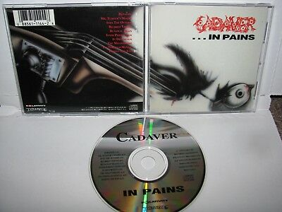 Cadaver - in pains CD ORIGINAL RELATIVITY 1992
