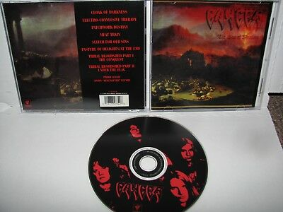 Cancer - the sins of mankind CD ORIGINAL RESTLESS 1993