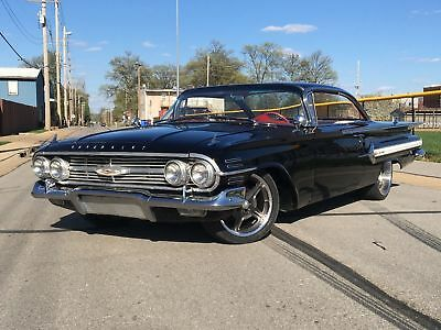 Chevrolet Impala Restomod Frame Off Fuel Injected Small Block Disc Brakes Air Conditioning Power Steering