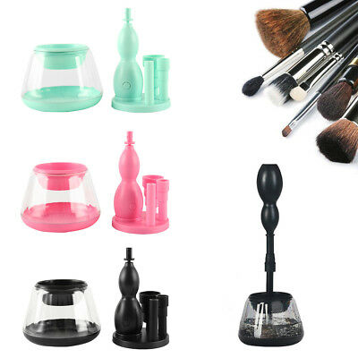 Electric Cosmetic Makeup Wash Brushes Brush Cleaner Dryer Washing Tool AU