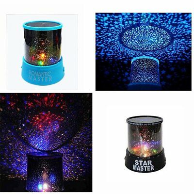 Romantic LED Star Sky Projector Master Lamp Colorful Twilight Night Party Decor