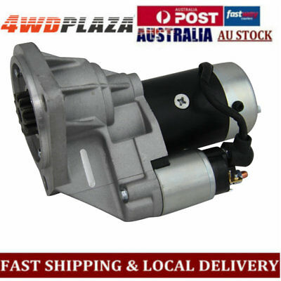 Starter Motor For Nissan Patrol GU II III IV inc Turbo Engine TD42 4.2L 00-07 01