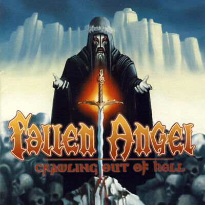 Fallen Angel Crawling Out Of Hell CD Classic Power Heavy Metal New