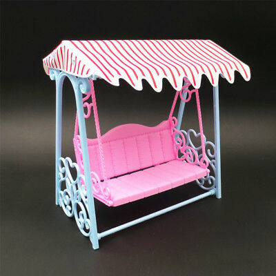 Furniture Garden Swing Set Plastic Vintage Sofa Play Toy Accessories For Barbie