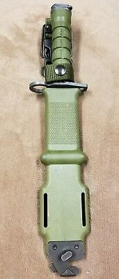 Excellent M9 Bayonet Ontario Combat Bayonet Military Surplus Issued