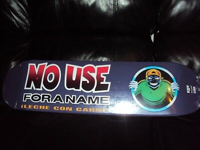 No Use For A Name skate deck !Leche con carne! Hand numbered 193/200 NEW nofx