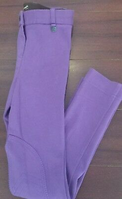 Girl's Windsor Apparel Jodhpurs, Size 10. New Without Tags.