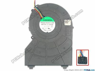 DELL 390 790 990 SFF Small Chassis Fan Radiator PFC0251BX-C010-S99  0J50GH