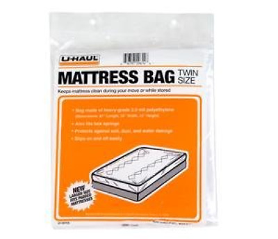 Bon Twin Size Mattress Storage Bag Cover Protector For Moving 87 X 39 X 10  Inches