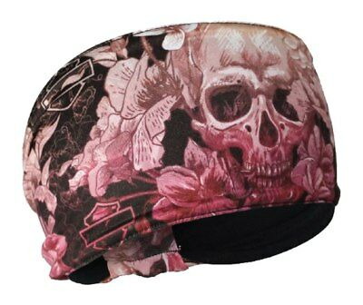 Harley-Davidson   Women's In Plain Sight Skull Multi-Colored Headband