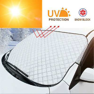 Car Front Windshield Snow Cover blind Frost proof Sun Shade UV block