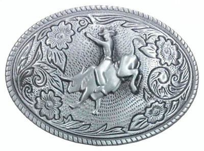 Small Rodeo Rider Belt Buckle