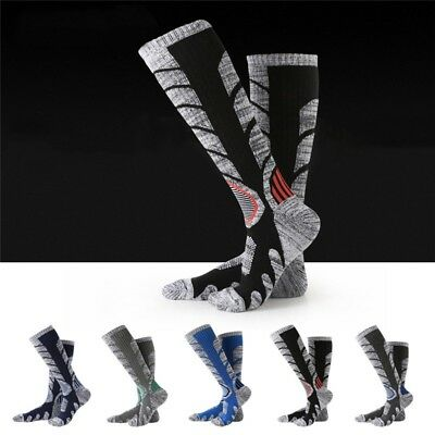 Mens Womens Long Thick Thermal Snow Sock Winter Outdoor Climing Hiking Warm Safe