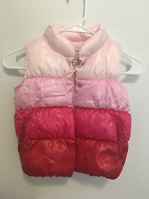 889d47bdc GIRL S PURPLE PUFFER coat toddler 3T Old Navy winter warm outerwear ...