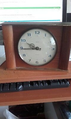 smiths mantle clock 1960s battery spares or repair