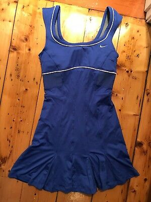 Nike Blue Maria Sharapova Tennis Dress size S NWOT