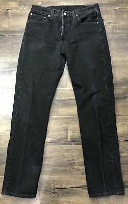 Levis 501 sexy distressed dark wash 36x36