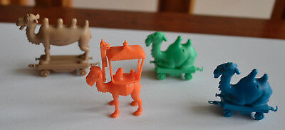 R&l Cereal Toys 1969 Crazy Camel Train