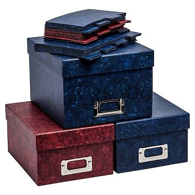Photograph Storage Boxes and Index Cards For Storing upto 700 Photo Pictures