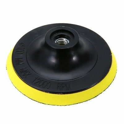 4'' Sanding Disc Sandpaper 10mm Hook Loop Backer Pad Shank Drill Adapter  TW