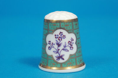 Royal Worcester Historical Patterns No.12 China Thimble B/167