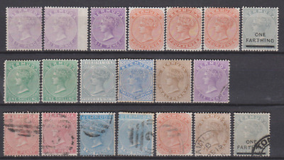 Bermuda 1865/80's Collection Mint Mounted & Used