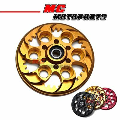 Motorcycle Ducati Pressure Plate Gold CNC For All Ducati Dry Clutch Model Engine