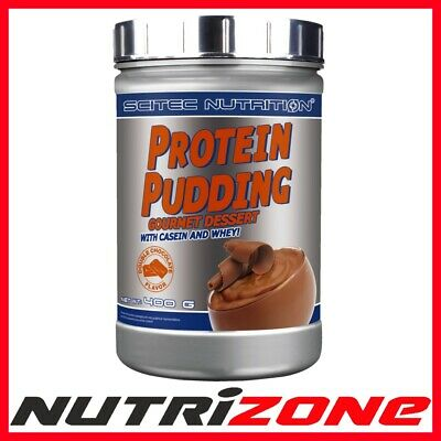 SCITEC NUTRITION PROTEIN PUDDING Whey Protein Casein DOUBLE CHOCOLATE 400g