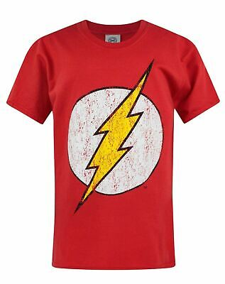 Officially Licensed The Flash Emblem Unisex Kids T-Shirt Ages 3-12 Years Kids' Clothes, Shoes & Accs.